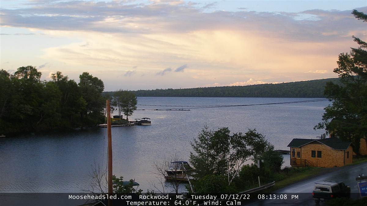 Rockwood Maine Webcam