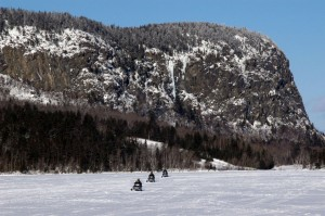 Snowmobile Mount Kineo